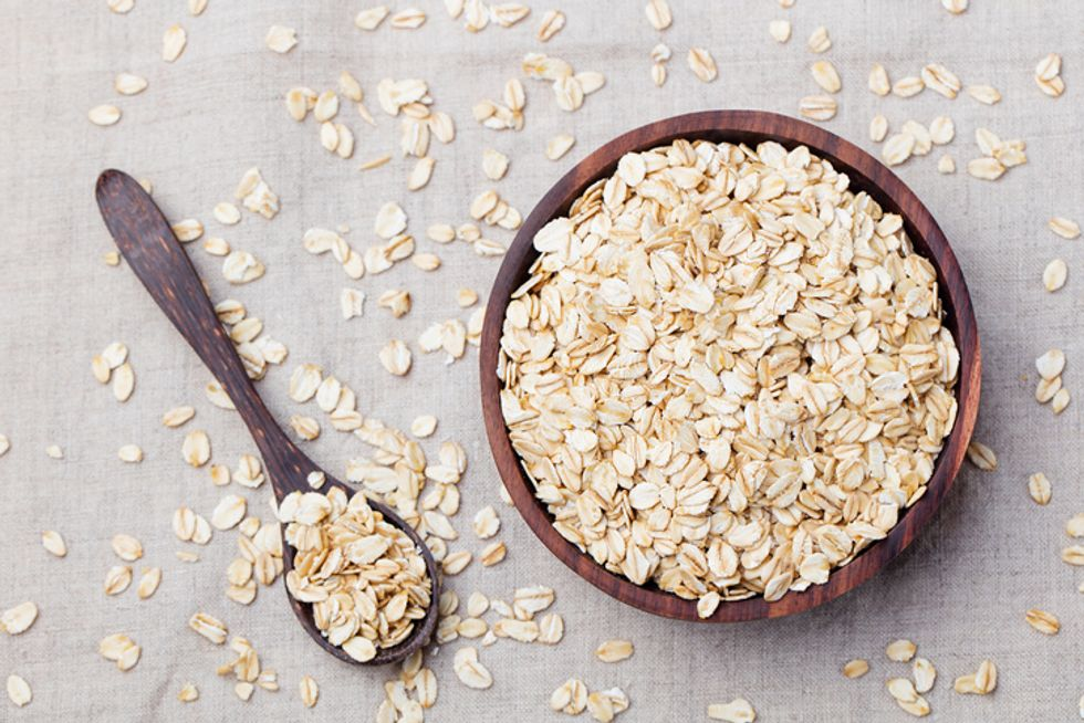 The Monday Dieter Overnight Curry Oats