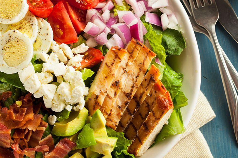 The 10-Day Tummy Tox Chicken Avocado Salad