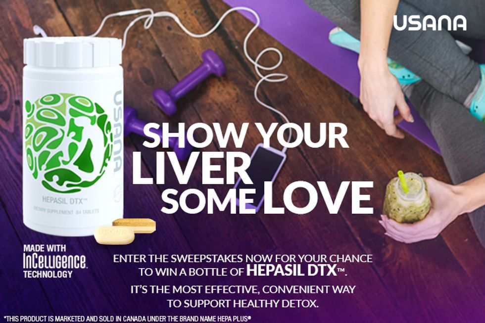 USANA Hepasil DTX™ Sweepstakes: Enter for a Chance to Win!