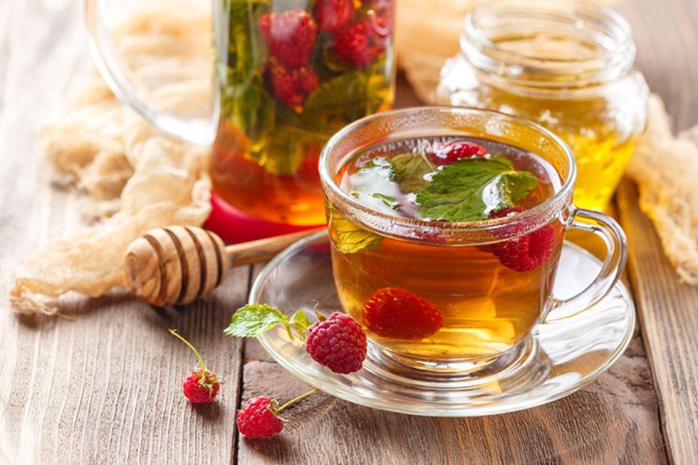 JJ Virgin's Cleansing Raspberry-Ginger Green Tea
