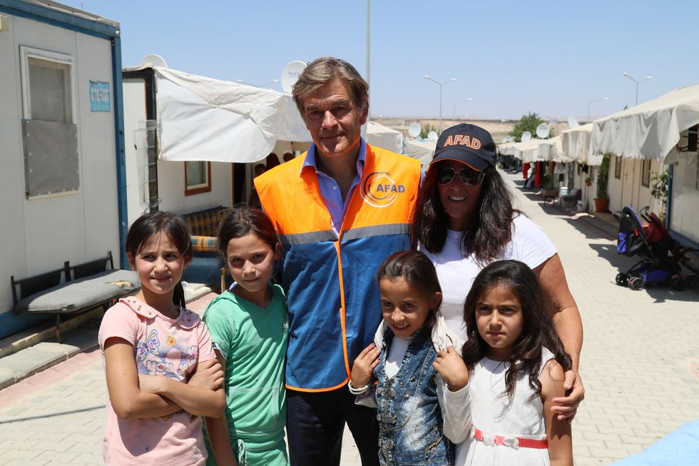 An Inside Look at Dr. Oz's Life Changing Trip to Syrian Refugee Camps