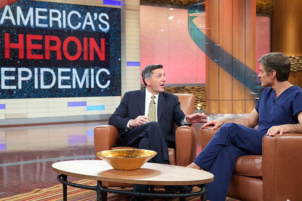 The Dr. Oz Show Explores America's Heroin Epidemic With White House Director Of National Drug Control Policy Michael Botticelli