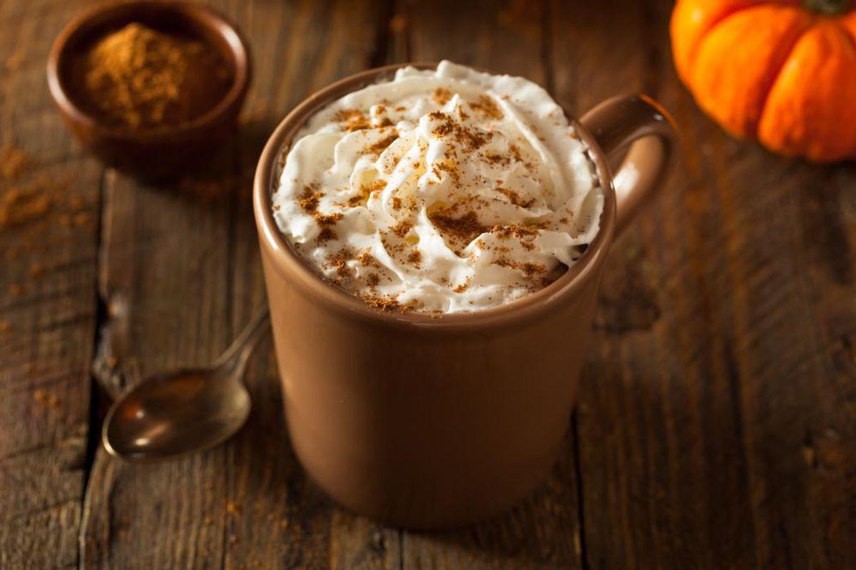 Healthier Pumpkin Spice Latte