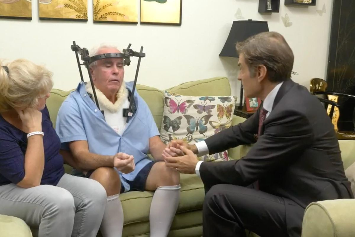 Watch: Dr. Oz Visits Casey Anthony's Parents After George's Life-Threatening Car Accident
