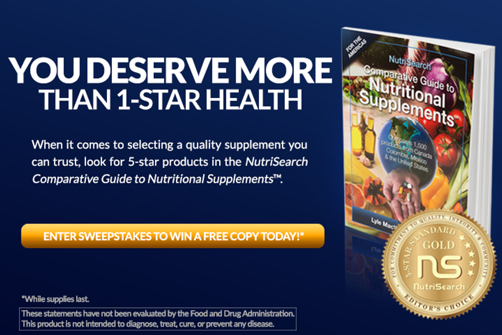 NutriSearch May 2016: Enter for a Chance to Win!