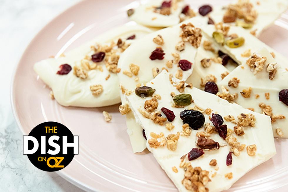Jordin Sparks' White Chocolate Breakfast Cereal Bark
