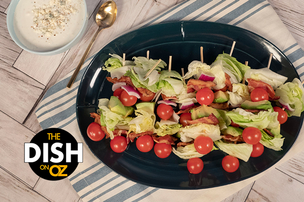 Jamika Pessoa's Wedge Salad Skewers