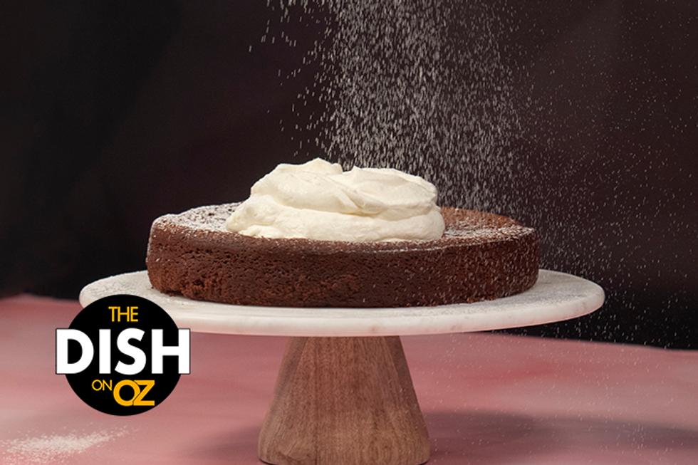 The Dish's Chocolate Blender Cake