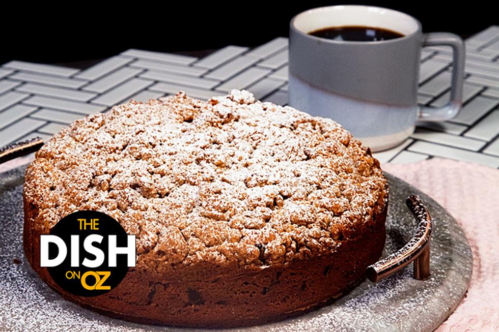 Daphne Oz's Double-Crumb Chocolate Walnut Coffee Cake