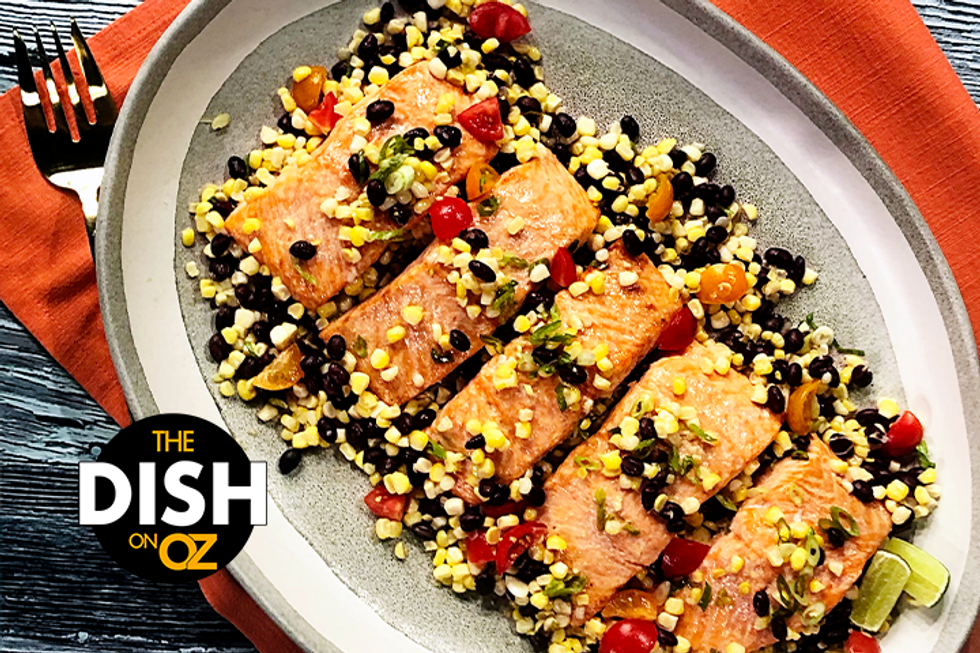 Gina Neely's 5-Ingredient Slimmed-Down Salmon