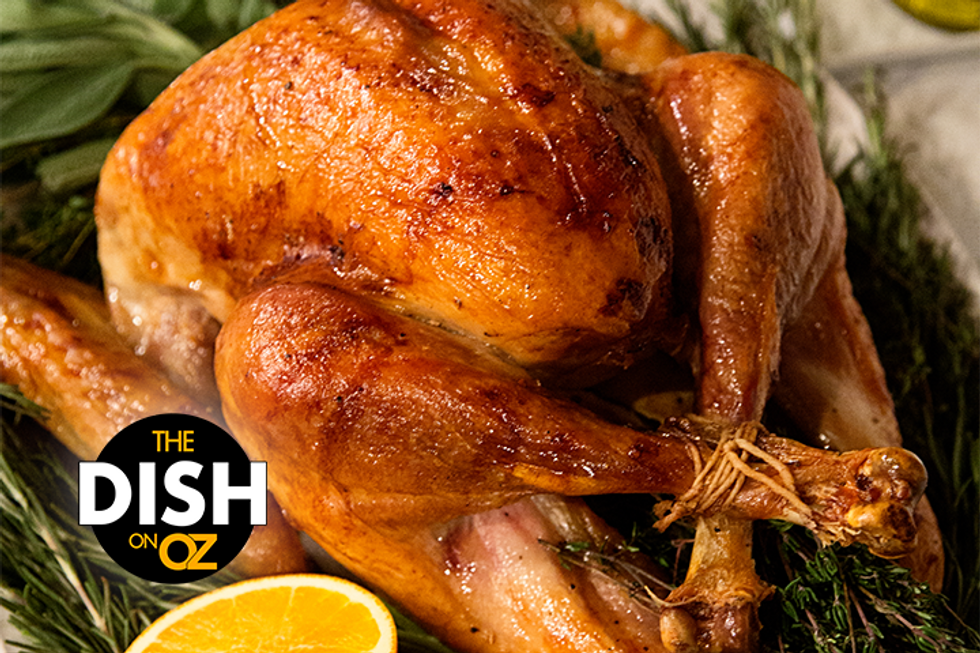 The Dish's Dry Brine for Roasted Turkey With Compound Butter