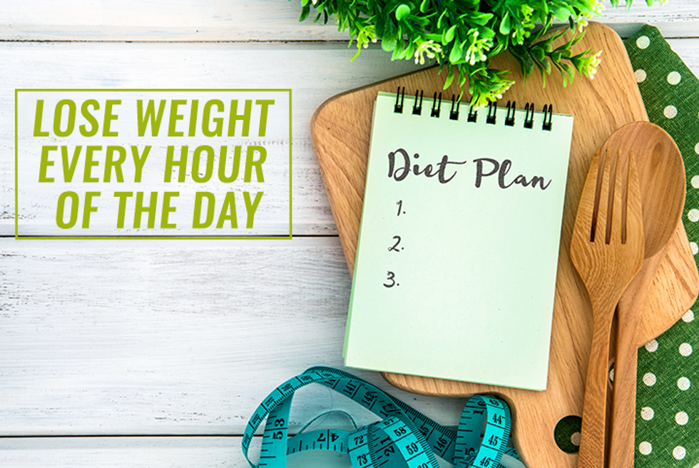 How to Lose Weight Every Hour of the Day