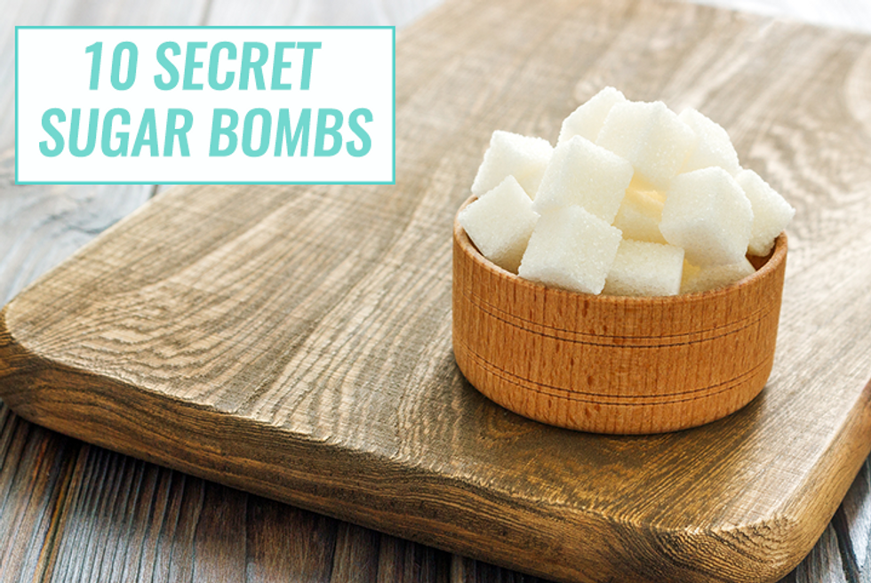 10 Secret Sugar Bombs You're Probably Eating
