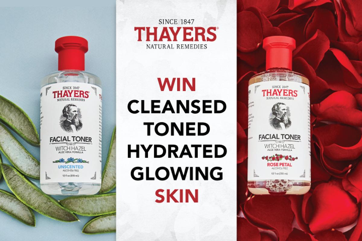 Thayers Natural Remedies - Facial Toner Giveaway