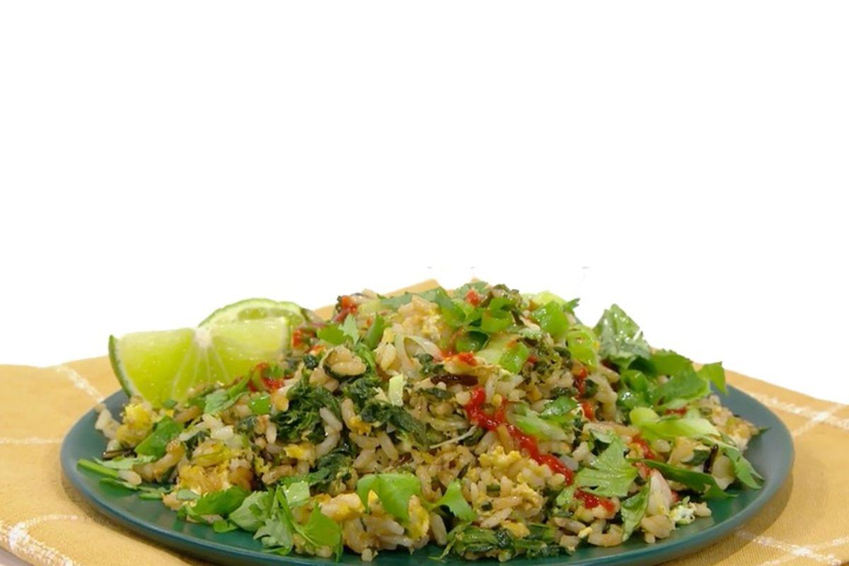 Photo of a rice dish.