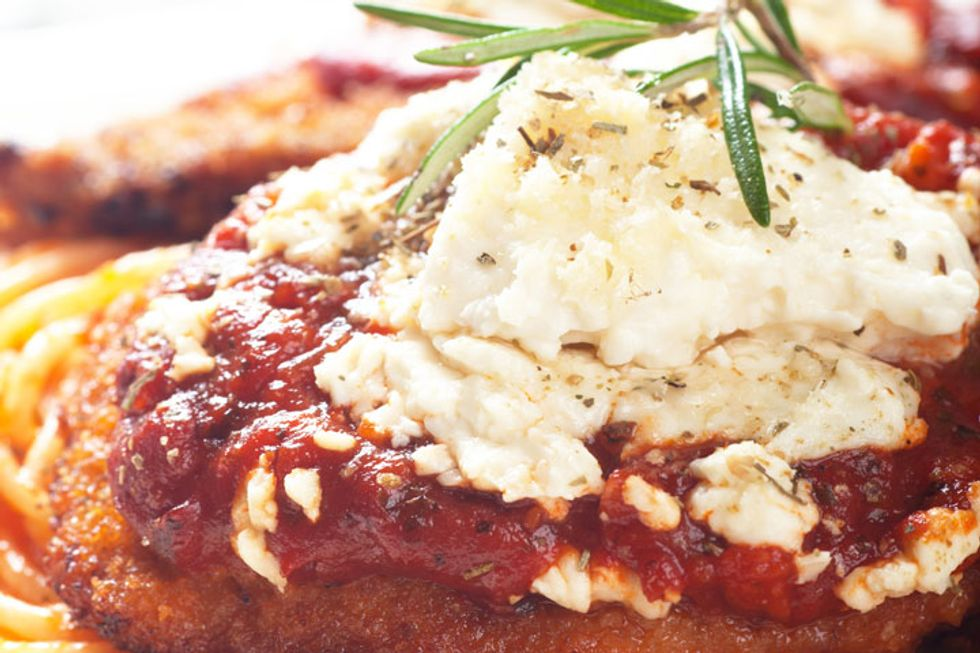 Unbelievably Easy Chicken Parmesan